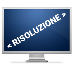 javascript risoluzione video Risoluzione Video